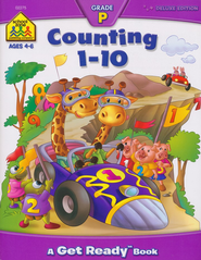 Counting 1-10, Ages 4-6   -