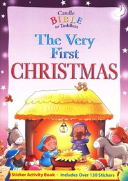 The Very First Christmas: Sticker Activity Book  -              By: Juliet David
