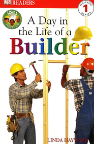 Eyewitness Readers, Level 1: A Day In The Life Of A Builder   -