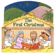 The First Christmas, Board Book   -     By: Juliet David     Illustrated By: Gemma Denham