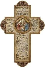 Jesus Name Cross  -              By: Joseph Studio