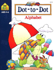 Dot-to-Dot Alphabet, Ages 4-6   -     By: Julie Orr