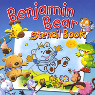 Benjamin Bear Stencil Book  -     By: Claire Freedman
