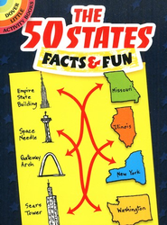 The 50 States: Facts and Fun  -     By: Viki Woodworth