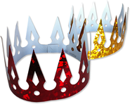 One Starry Night Crowns, 10 Pack  -