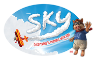 Sky Iron-On Transfers, Package of 10  -