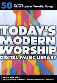 Today's Modern Worship Digital Music Library   -