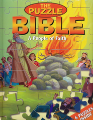 A People of Faith - The Puzzle Bible  - Slightly Imperfect  -