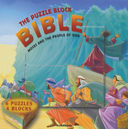 Moses and the People of God - Puzzle Block Bible  - Slightly Imperfect  -