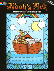 Noah's Ark Stained Glass Coloring Book  -     By: Freddie Levin