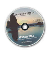 Homeschool Oasis ASC/TAS Forms for High School CD-Rom   -              By: Barb Shelton