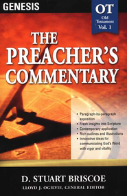 The Preacher's Commentary Vol 1: Genesis   -     By: Stuart Briscoe