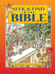 Seek and find in the Bible  - Slightly Imperfect  -     By: Jose Perez Montero (Ill.)     Illustrated By: Jose Perez Montero
