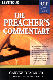 The Preacher's Commentary Vol 3: Leviticus   -     By: Gary W. Demarest