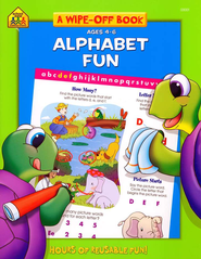Alphabet Fun, Ages 4-6   -