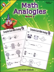 Math Analogies Book 2   -