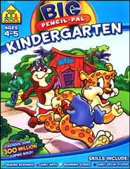 Pencil-Pal Big Kindergarten Workbook & CD-ROM   -