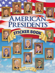 American Presidents Sticker book  -     By: Tim Foley