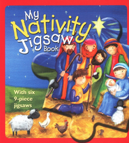 My Nativity Jigsaw Book  -              By: Christina Goodings                   Illustrated By: Rebecca Elliott
