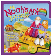 My Noah's Ark Jigsaw Book  -     By: Christina Goodings     Illustrated By: Rebecca Elliott