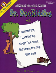 Dr. Dooriddles PreK-2, Book A2   -     By: John Doolittle