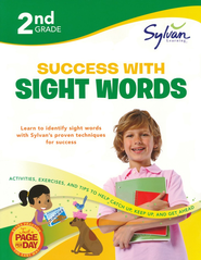 Second Grade Success with Sight Words (Sylvan Workbooks)  -     By: Sylvan Learning
