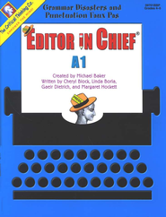 Editor in Chief Level A1, Grades 4-5   -