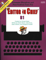 Editor in Chief Level B1, Grades 6-8   -
