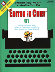 Editor in Chief Level C1, Grades 9-12   -