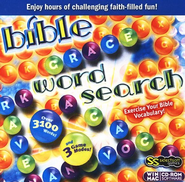 Bible Word Search Game on CD-ROM   -