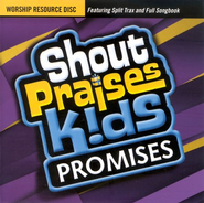 Shout Praises Kids: Promises, Worship Resource CD   -