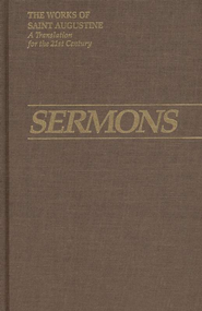 New Sermons (Works of Saint Augustine)  -     By: Saint Augustine