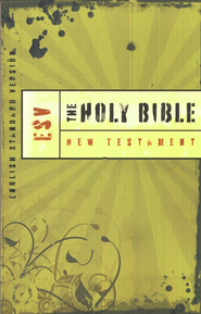 ESV Outreach New Testament, softcover  - Slightly Imperfect  -