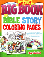 Really Big Book of Bible Story Coloring Pages   -