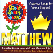 Bible Story Songs: Matthew Songs for Younger Singers CD   -     By: Paula King, Catherine Walker