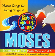 Bible Story Songs: Moses, for Young Singers CD  -     By: Paula King, Catherine Walker