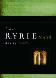 Ryrie NAS Study Bible Hardback, Red Letter, Indexed  -              By: Charles Ryrie