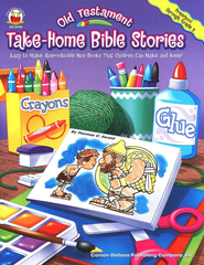 Old Testament Take-Home Bible Stories (PreK-K)  -     By: Thomas Ewald