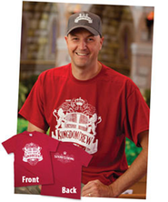 Kingdom Rock VBS Bagged Staff T-Shirt (2XL 50-52)  -