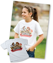 Kingdom Rock VBS Bagged Theme Child T-Shirt (Med 10-12)  -