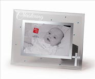 Christening Frame, Blue  -