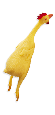 Heroes Unmasked Rubber Chickens, Package of 3  -