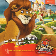 Kingdom Rock Clip Art & Resources CD  -