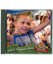 Sing & Play Rock Participant Version Music CD   -