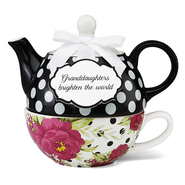 Granddaughters Brighten the World, Tea for One  -
