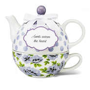 Aunts Warm the Heart, Tea for One  -