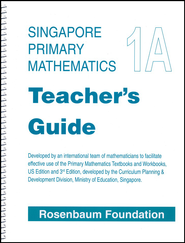 Singapore Math Primary Math Teacher's Guide 1A   -