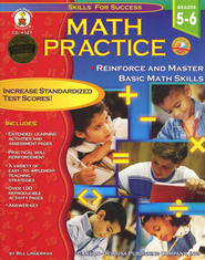 Math Practice: Skills for Success--Grades 5 to 6  -     By: Bill Linderman