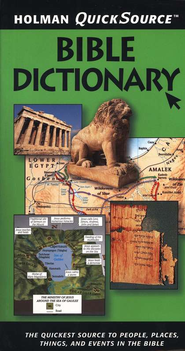 Holman QuickSource Bible Dictionary - Slightly Imperfect  -