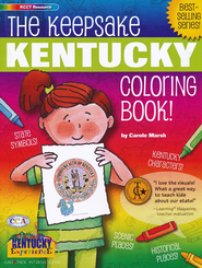Kentucky Coloring Book, Grades PreK-3  -     By: Carole Marsh
